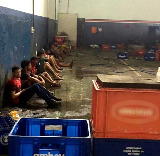 Polícia fecha depósito clandestino (Imagem: Divulgação)