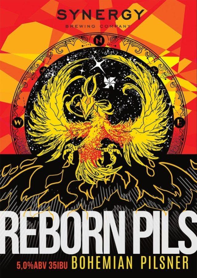 Cervejaria Synergy lança Reborn Pils, uma Bohemian Pilsner (Imagem: Divulgação)