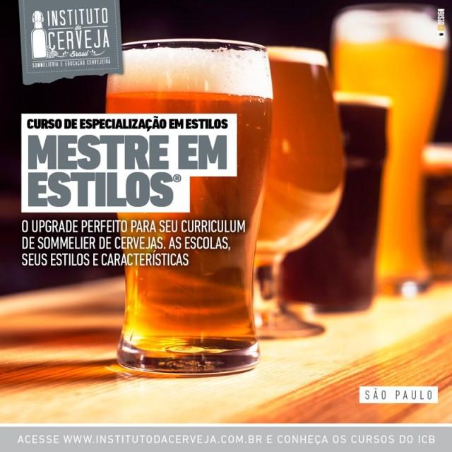 Mestre em Estilos - Instituto da Cerveja