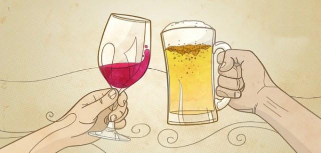 Estudos revelam que cerveja pode ser mais benéfica que o vinho (Imagem: Divulgação)