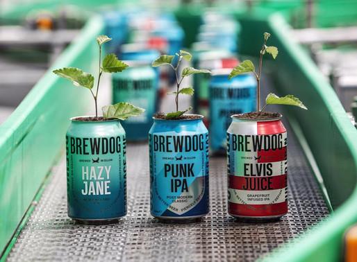 BrewDog é a primeira cervejaria com emissão de carbono negativo