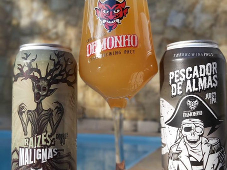 Duas novas IPAs da Cervejaria Demonho chegam no mercado