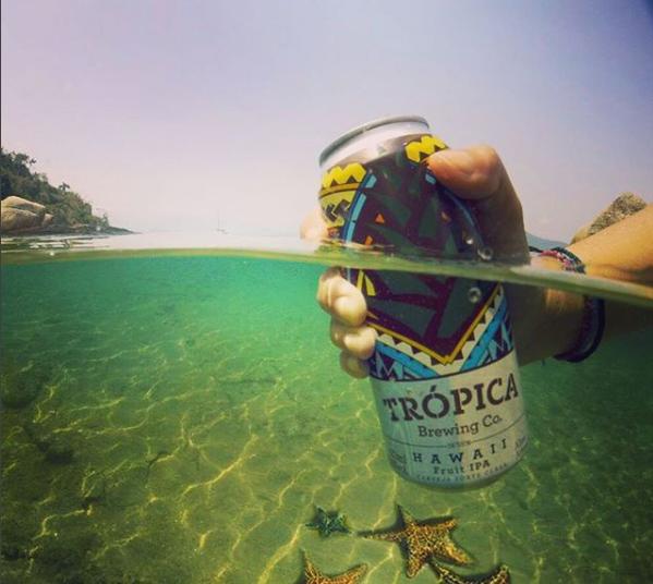 Trópica Brewing Co. lançará cerveja do estilo Witbier (Imagem: @cervejatropica)