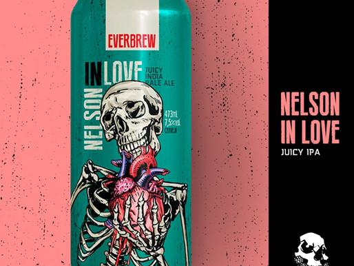 Everbrew lança série Nelson in Love com lúpulos do Novo Mundo