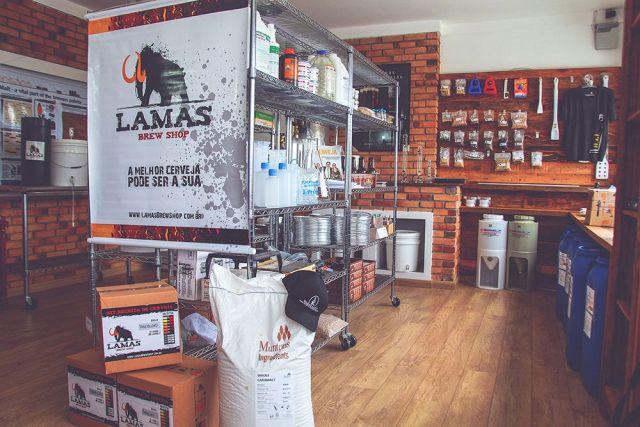 Lamas Brew Shop Belo Horizonte (Foto: Divulgação)