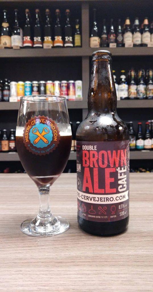 Mestre-cervejeiro.com Double Brown Ale com café (Edição de 15 anos)