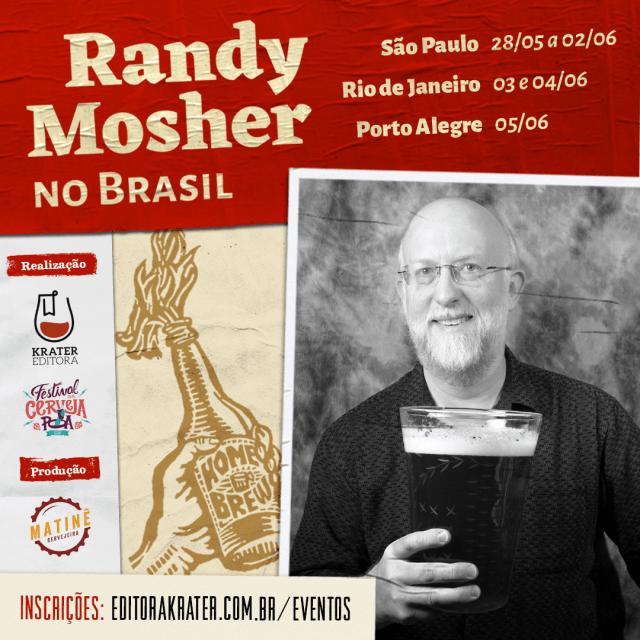 Randy Mosher no Brasil (Imagem: Divulgação)