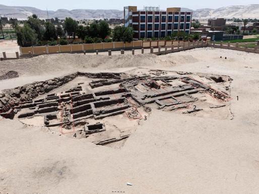 Arqueólogos descobrem fábrica de cerveja com 5.000 anos no Egito