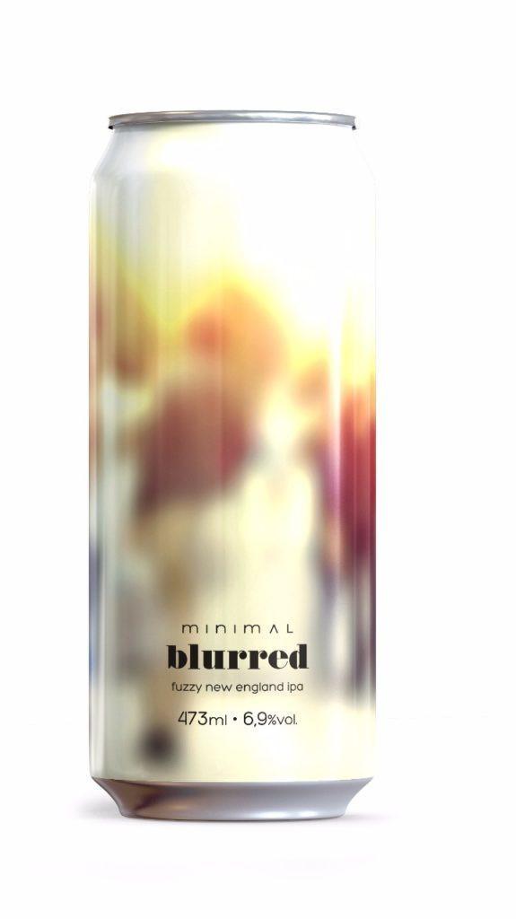 A cervejaria Minimal prepara o lançamento de seu sexto rótulo, a cerveja Blurred (Imagem: Divulgação)