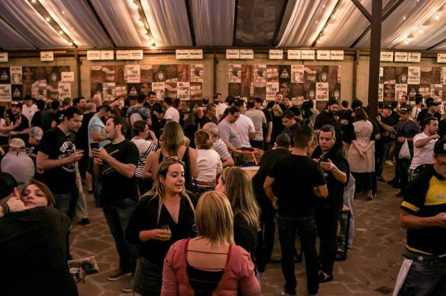 Evento de aniversário da Cervejaria Dogma (Imagem: Divulgação)