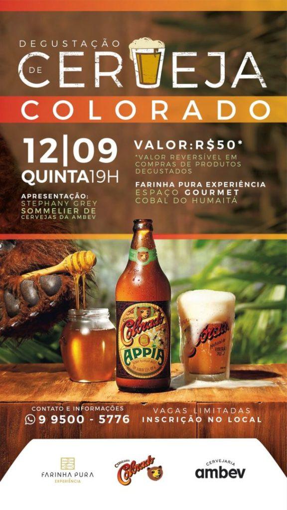 Degustação de cervejas no Farinha Pura (Imagem: Divulgação)