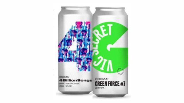 Croma lança 4 Billion Songs – Double New England IPA e Green Force #7 – Juicy IPA  (Imagem: Divulgação)