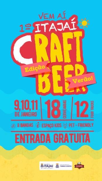 Itajaí Craft Beer (Imagem: Divulgação)
