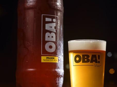 Cervejaria Máfia lança a linha popular de cerveja, a Oba!