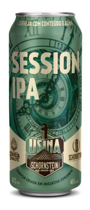 Session IPA foi primeiro rótulo a chegar ao mercado pelo Usina Schornstein