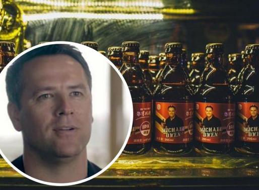 Owen, ex-jogador de Liverpool e Real lança cerveja própria