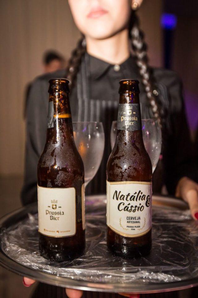 Cervejas personalizadas dão toque especial nos eventos (Imagem: Bruno Guimarães)