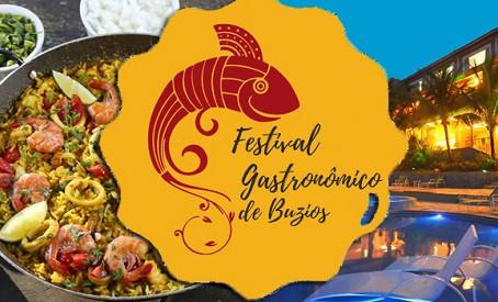 Festival Gastronômico de Búzios acontece em novembro