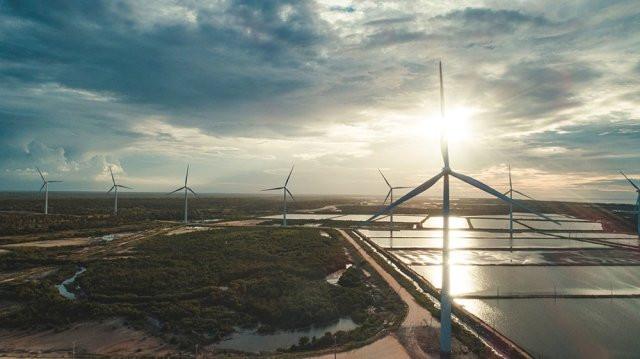 Parque Eólico no Ceará é uma estratégia da Heineken em Sustentabilidade (Imagem: Divulgação)