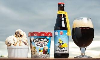 Sorvete de cerveja ou Cerveja de sorvete? Os dois!