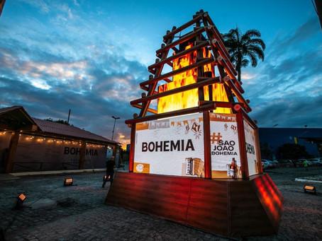 Cerveja Bohemia faz Fogueira Interativa e Correio Elegante Virtual neste São João