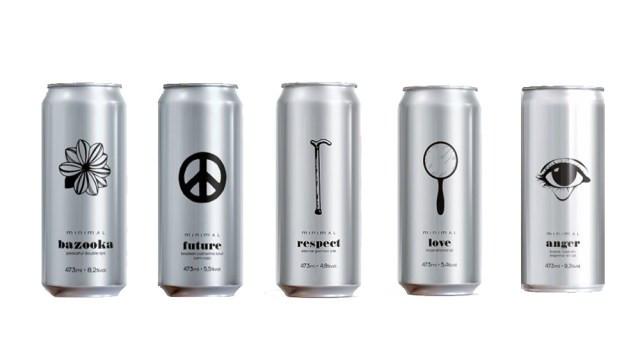 Rótulos da Cervejaria Minimal  (Imagem: Divulgação)