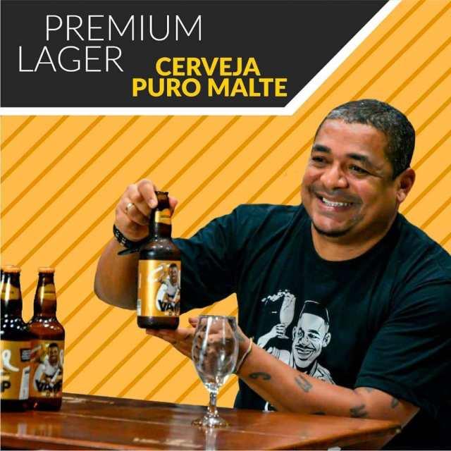 Vampeta lança própria cerveja (Imagem: Divulgação)