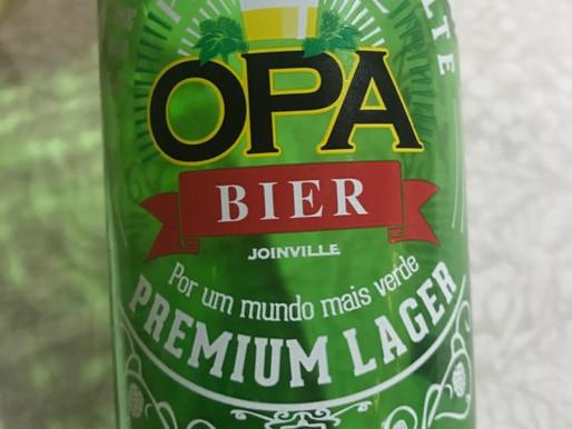 Opa Parque Premium Lager, cerveja exclusiva do Fort Atacadista, agora em long neck