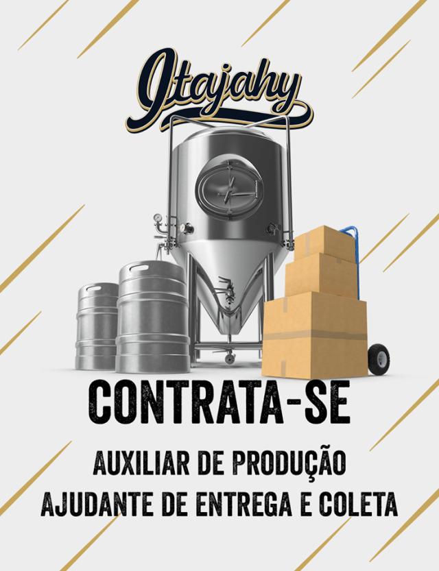 Vagas de Emprego Cervejaria Itajahy (Foto: Divulgação)