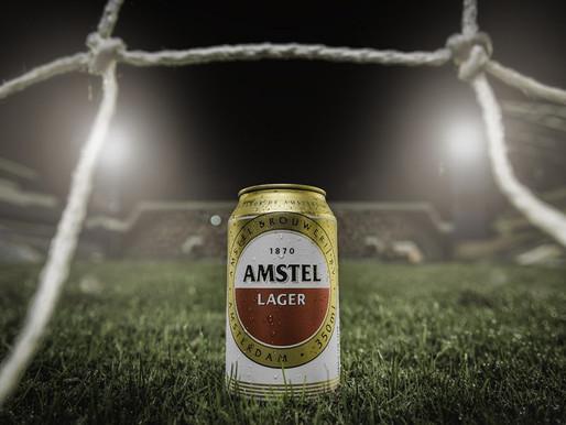 Amstel – A única no templo do futebol!