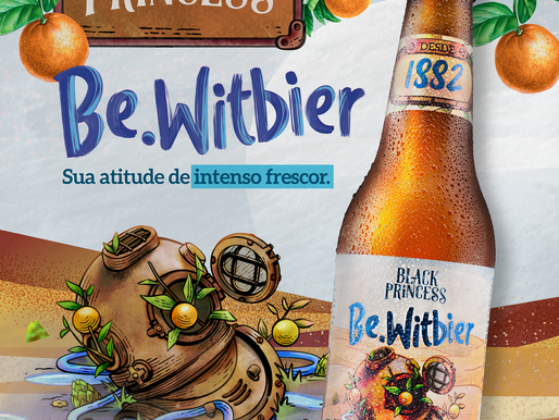 Black Princess lança novo rótulo: Be.Witbier