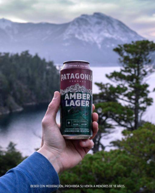 Novo rótulo da Patagonia Amber Lager (Imagem: Divulgação)