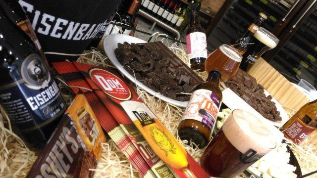 Cervejas e Chocolates