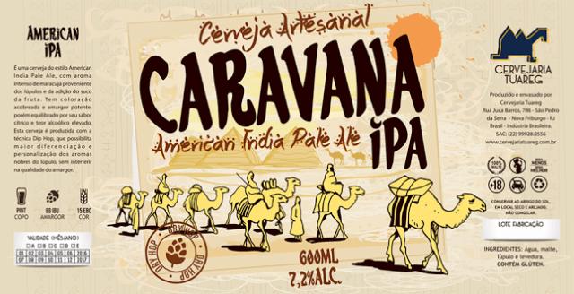 Rótulo desenvolvido pela Agência Alvo, de Vinícius Ferreira, editor do blog de design da Beer Art e criador do curso de extensão (Foto: Divulgação)
