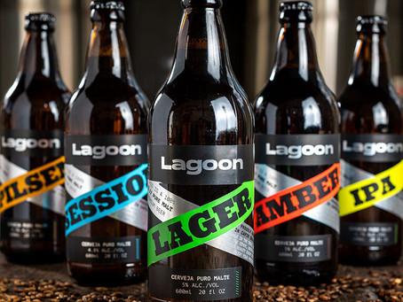 Lagoon Beer estreia com cinco rótulos