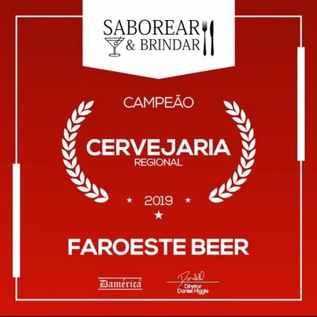 Faroeste Beer é eleita a melhor cervejaria pelo prêmio Saborear & Brindar (Imagem: Divulgação)