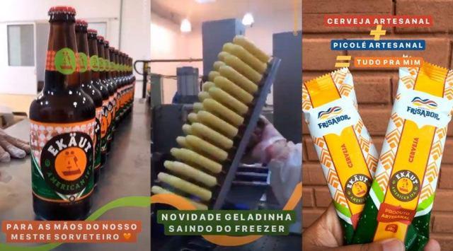 Picolé de cerveja é lançado em Pernambuco (Imagem: Divulgação)