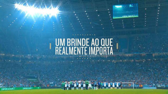 """""""Não é só Futebol"""": Brahma estreia campanha homenageando torcedores reais (Imagem: Divulgação)"""