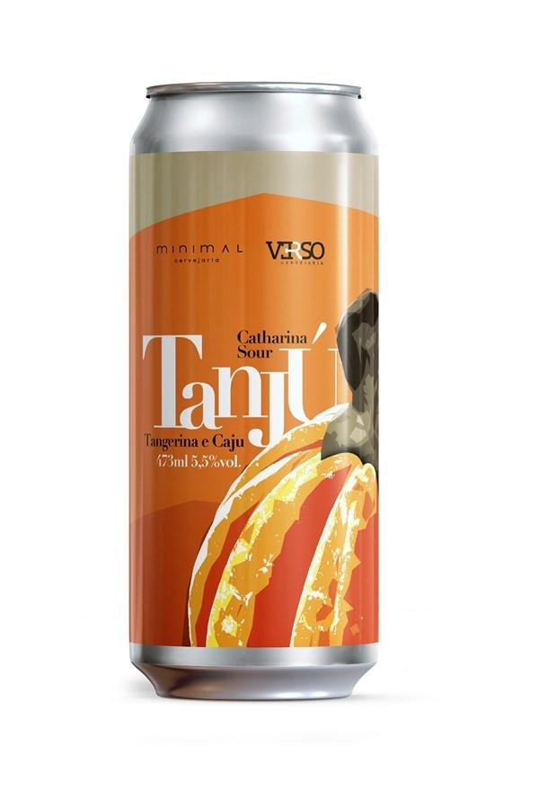 Tanjú: Catharina Sour com adição de caju e tangerina (Imagem: Divulgação)