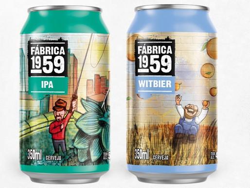 Cerveja Fábrica 1959 ganha versão lata