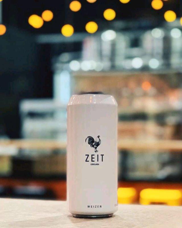 Zeit Weizen Bier em lata (Imagem: Divulgação)