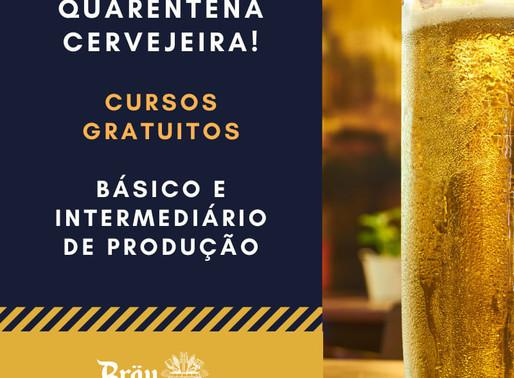 Quarentena: Brau Akademie libera gratuitamente cursos EaD de produção cervejeira