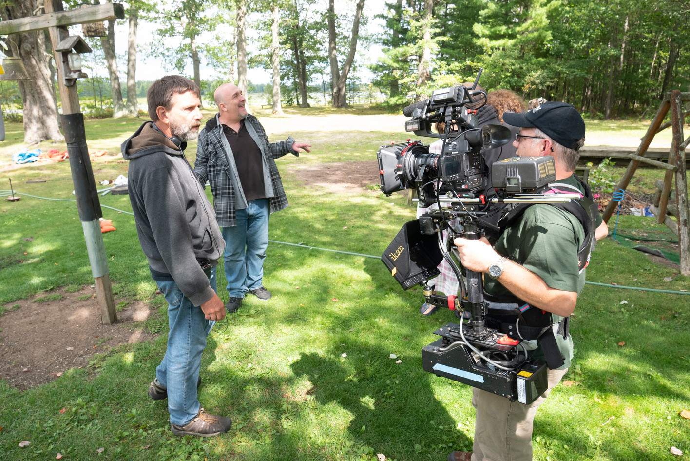 Steadicam Op Brett and Director Rich Brauer