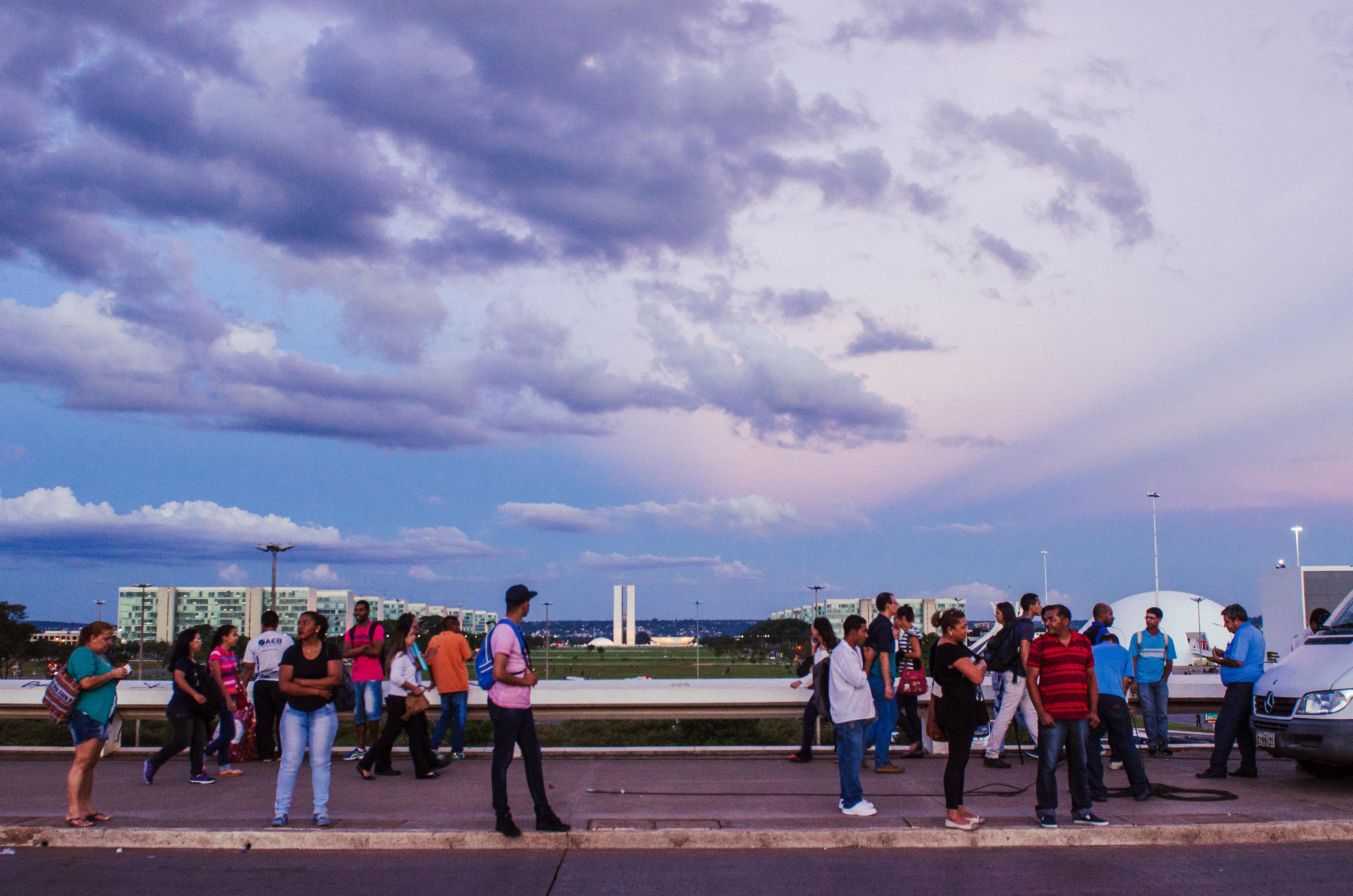Esplanada dos Ministério, Brasília.