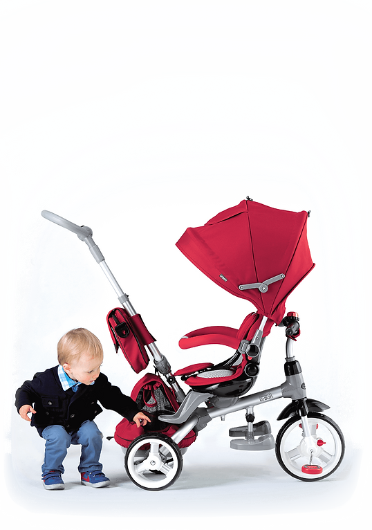 Urban Trike seat rotation