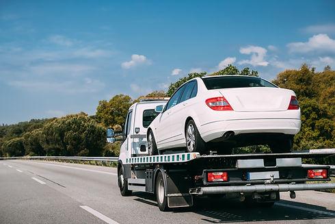 Car Service Transportation Concept. Tow