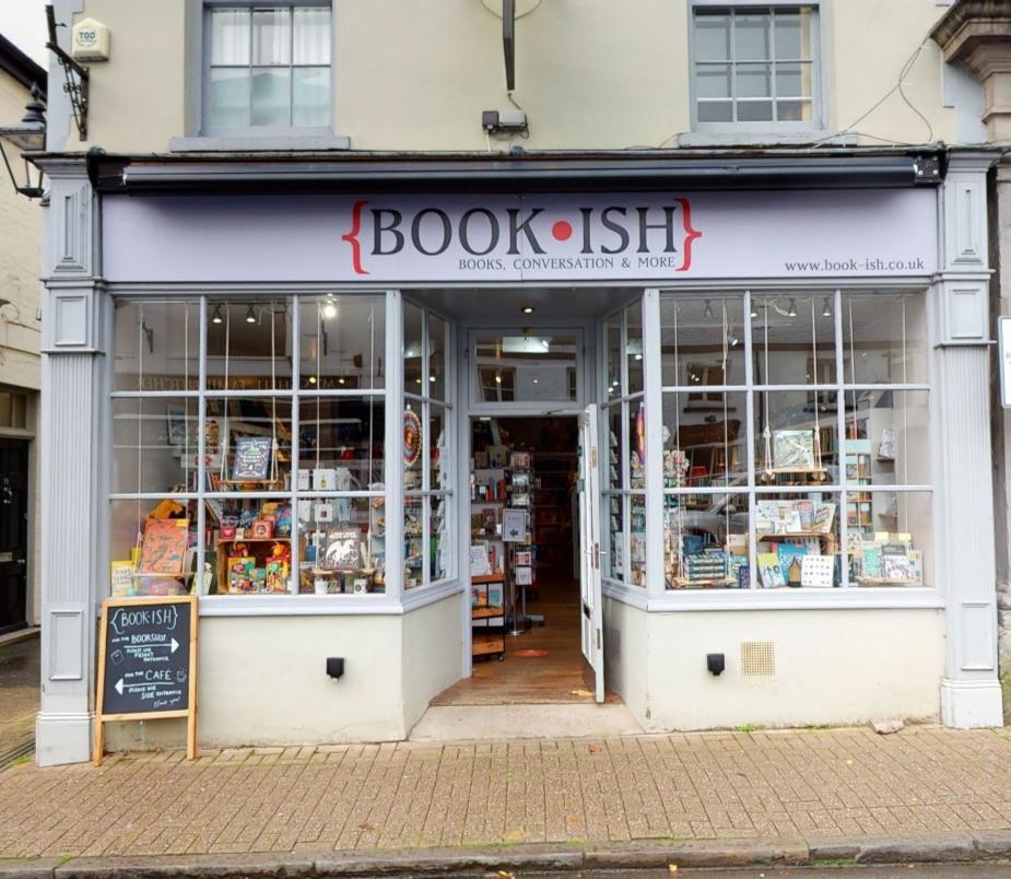 Book-ish storefront