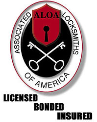 All Alert Alarm & Locksmith ALOA Logo