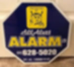 All Alert Alarm & Locksmiths Alarm Sign