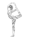 The Tripping Yogi yoga pose